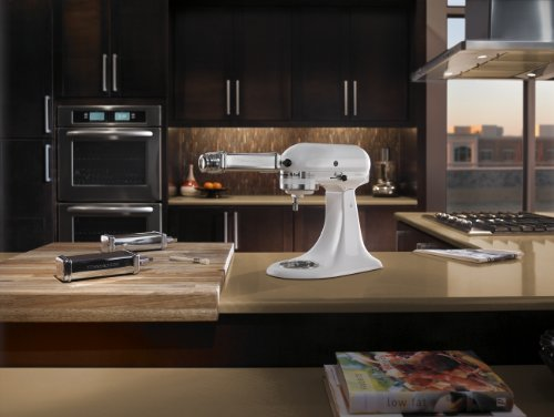 White Kitchenaid kitchenaid k45sswh k45ss classic 275-watt 4-1/2-quart stand mixer, whi
