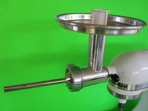 Metal Meat Grinder Attachment For Kitchenaid Mixers Plus